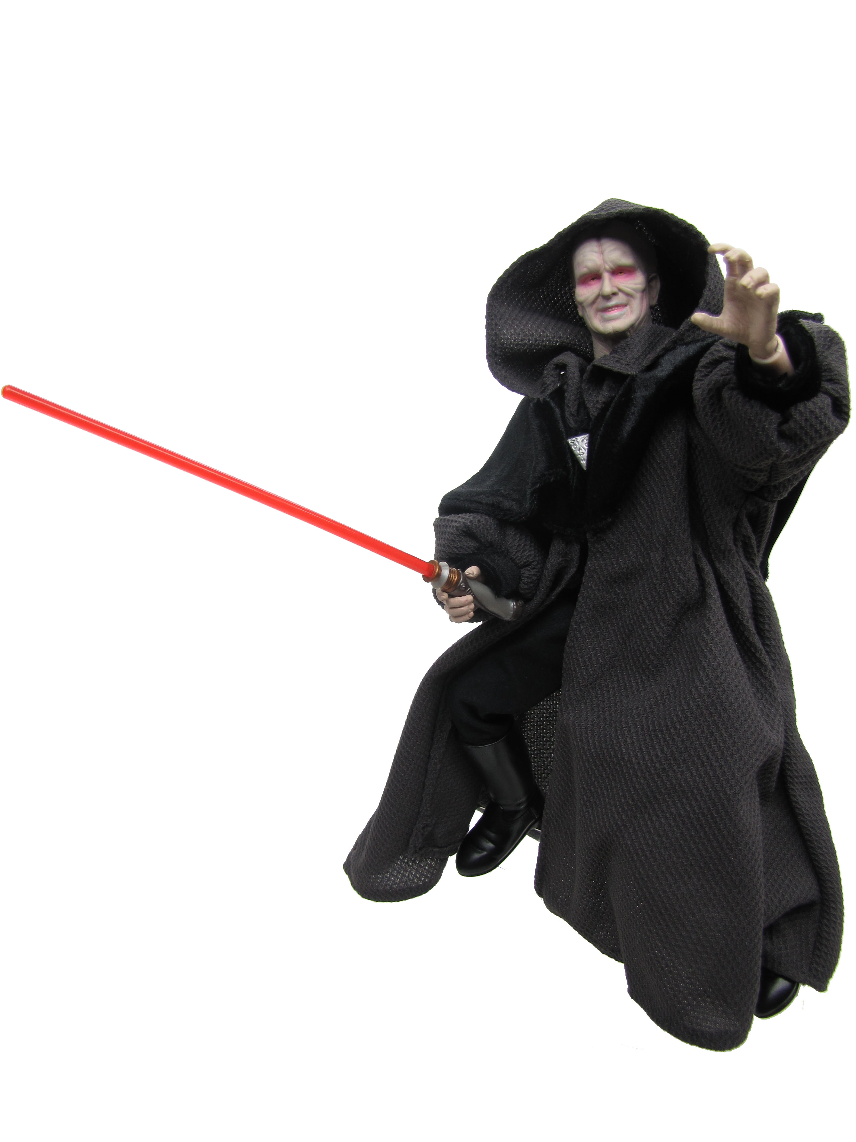 "2005 Star Wars Revenge of the Sith 12"" DARTH SIDIOUS Complete"
